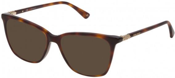 Nina Ricci VNR141S sunglasses in Shiny Dark Havana