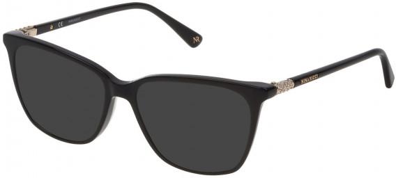 Nina Ricci VNR141S sunglasses in Shiny Black
