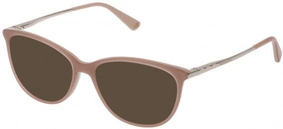 Nina Ricci VNR139 sunglasses in Shiny Pink/Full Powder