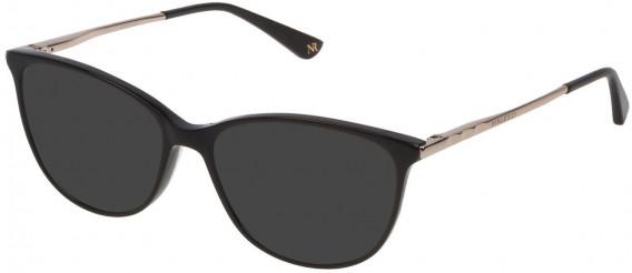 Nina Ricci VNR139 sunglasses in Shiny Black