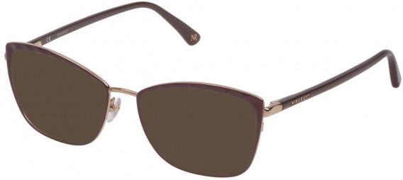 Nina Ricci VNR137 sunglasses in Shiny Camel/Coloured