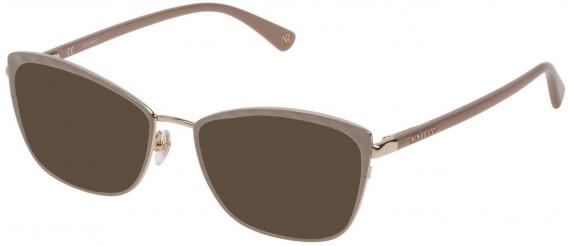 Nina Ricci VNR137 sunglasses in Shiny Light Rose Gold