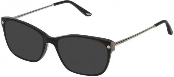 Nina Ricci VNR133 sunglasses in Shiny Black