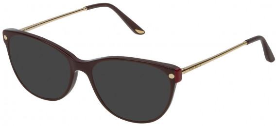 Nina Ricci VNR132 sunglasses in Full Bordeaux