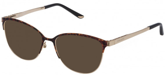 Nina Ricci VNR125S sunglasses in Shiny Light Gold/Coloured