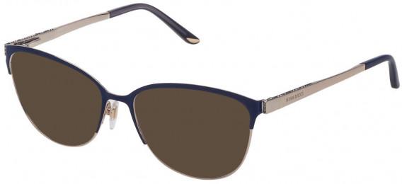 Nina Ricci VNR125S sunglasses in Shiny Rose Gold/Havana