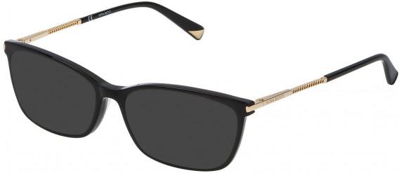 Nina Ricci VNR083 sunglasses in Shiny Black