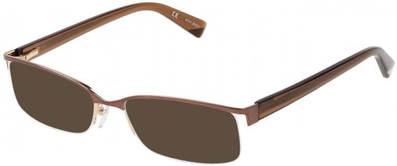 Nina Ricci VNR022 sunglasses in Shiny Dark Brown