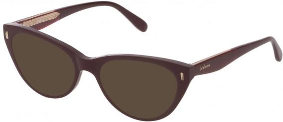 Mulberry VML052 sunglasses in Shiny Full Bordeaux