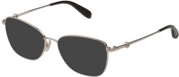 Mulberry VML050 sunglasses in Shiny Full Palladium