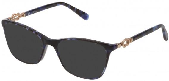 Mulberry VML049 sunglasses in Shiny Blue Havana