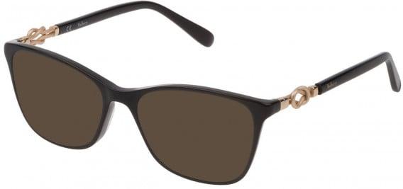 Mulberry VML049 sunglasses in Black Super Black