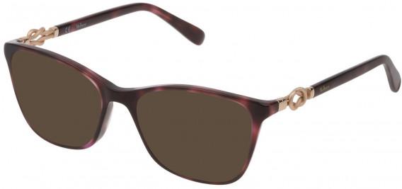 Mulberry VML049 sunglasses in Shiny Red Havana