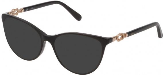Mulberry VML048 sunglasses in Black Super Black