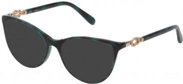 Mulberry VML048 sunglasses in Shiny Blue Havana