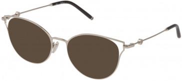 Mulberry VML047 sunglasses in Shiny Palladium