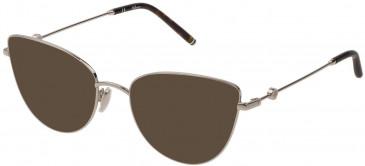 Mulberry VML046 sunglasses in Shiny Full Palladium