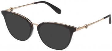 Mulberry VML045 sunglasses in Black Super Black