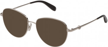 Mulberry VML044 sunglasses in Shiny Full Palladium