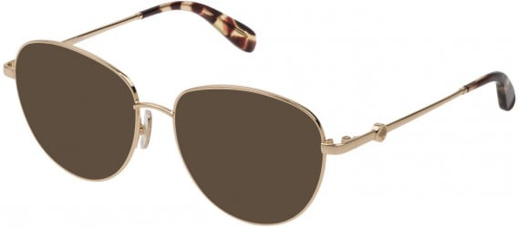 Mulberry VML044 sunglasses in Shiny Rose Gold