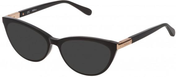 Mulberry VML042 sunglasses in Black Super Black