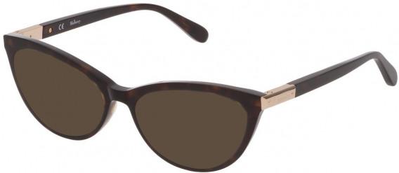 Mulberry VML042 sunglasses in Shiny Dark Havana