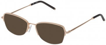Mulberry VML030 sunglasses in Shiny Rose Gold