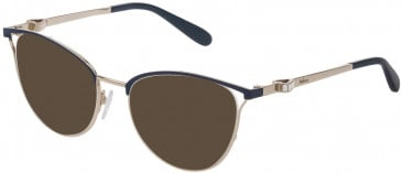 Mulberry VML028S sunglasses in Light Gold/Coloured