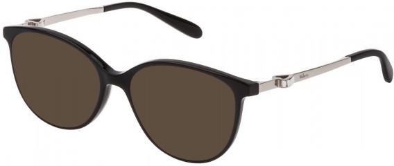 Mulberry VML027S sunglasses in Black Super Black