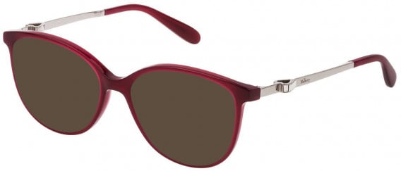 Mulberry VML027S sunglasses in Shiny Opal Bordeaux