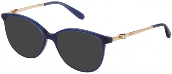 Mulberry VML027S sunglasses in Shiny Opal Blue