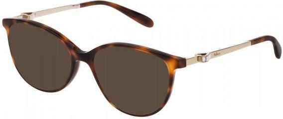 Mulberry VML027S sunglasses in Shiny Dark Havana