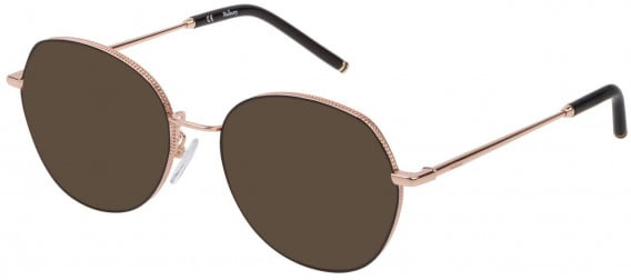Mulberry VML026 sunglasses in Shiny Copper Gold/Coloured
