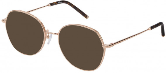 Mulberry VML026 sunglasses in Shiny Rose Gold