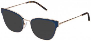 Mulberry VML025 sunglasses in Shiny Blue/Petroleum