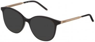 Mulberry VML021 sunglasses in Black Super Black