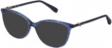 Mulberry VML019 sunglasses in Melange Blue
