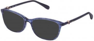 Mulberry VML018 sunglasses in Melange Blue
