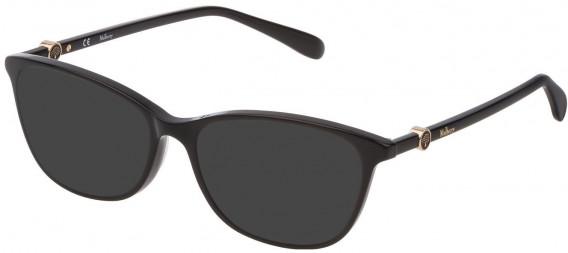 Mulberry VML018 sunglasses in Black Super Black