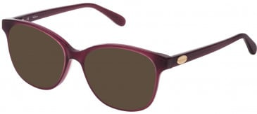 Mulberry VML017 sunglasses in Shiny Opal Marc