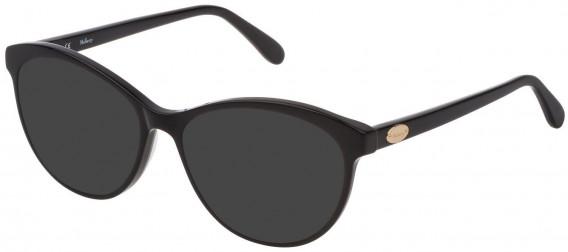 Mulberry VML016 sunglasses in Black Super Black