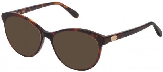 Mulberry VML016 sunglasses in Shiny Brown Top/Havana