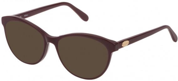 Mulberry VML016 sunglasses in Shiny Full Bordeaux