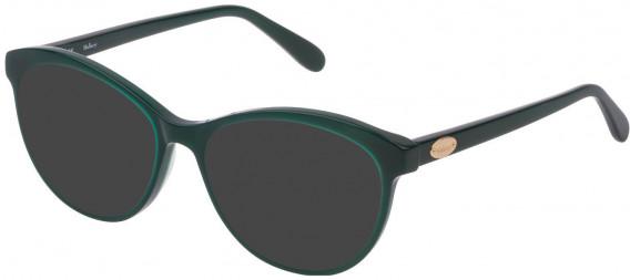 Mulberry VML016 sunglasses in Shiny Dark Green