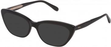 Mulberry VML015 sunglasses in Black Super Black