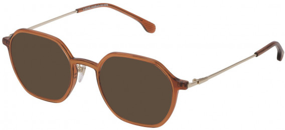 Lozza VL4229 sunglasses in Trasparent Brick