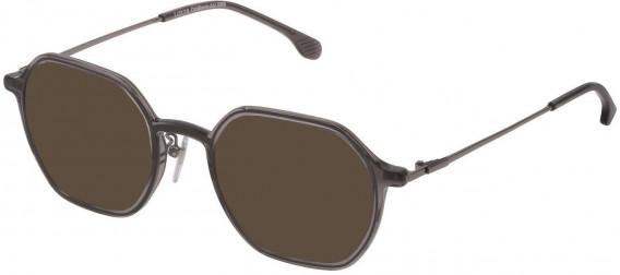 Lozza VL4229 sunglasses in Transparent Grey