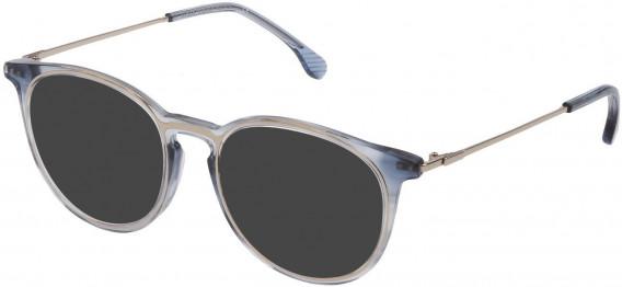Lozza VL4223 sunglasses in Shiny Striped Blue
