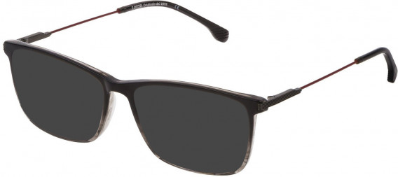 Lozza VL4212 sunglasses in Gradient Striped Black/Grey