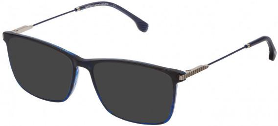 Lozza VL4212 sunglasses in Striped Blue